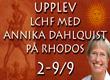 Annika Dahlqvist på Rhodos