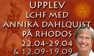 Annika Dahlqvist Rhodos 2012